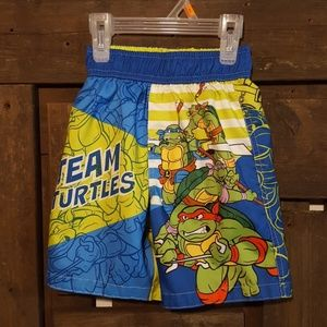 Ninja Turtle Swim Tunks